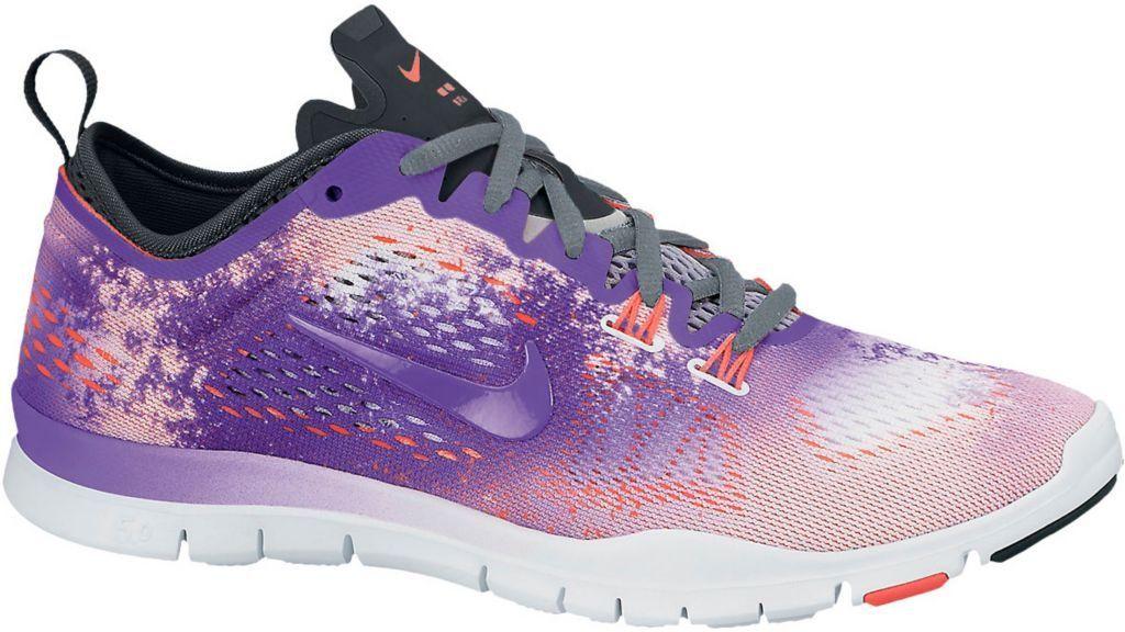 Nike Free 5.0 Trainer En Forme De Quatre Chaussures De Fitness Femmes Dorange