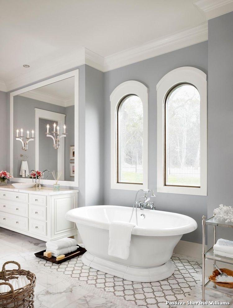 Light Gray Paint Color Bathroom