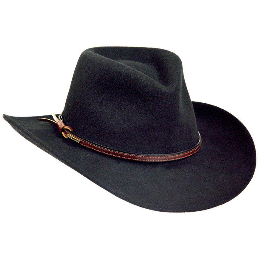 Stetson Bozeman Crushable Wool Hat  a4cd41a482a