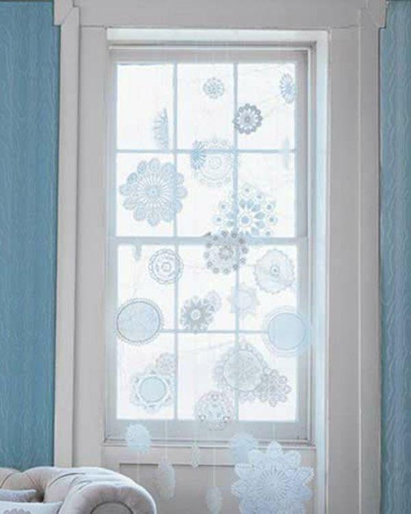 Fensterdeko häkeln weihnachten  elegante-fensterdeko-zum-weihnachten.jpg 600×750 Pixel   Winter ...