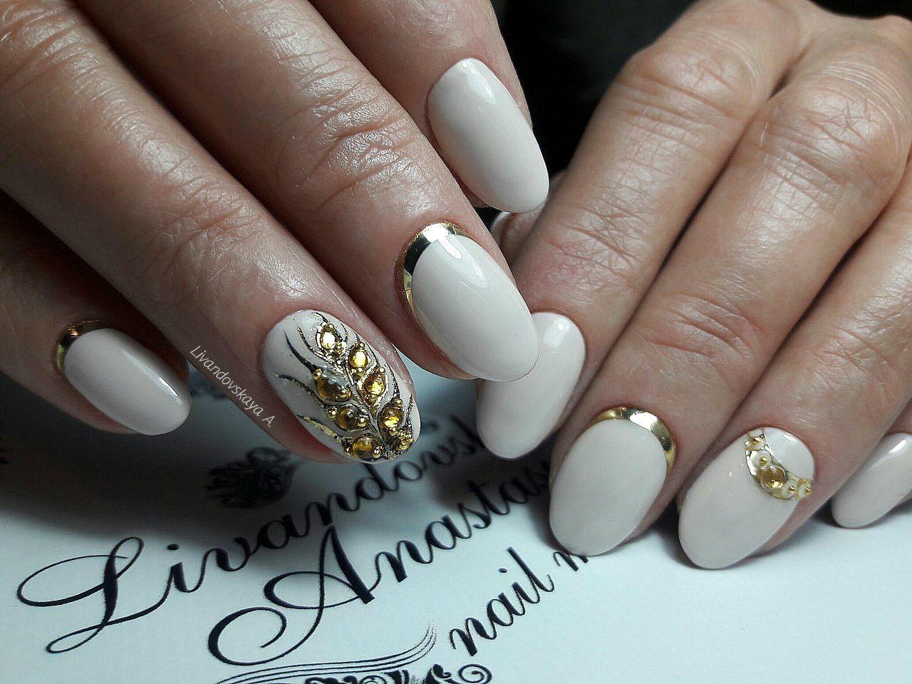 Дизайн ногтей овал 2017