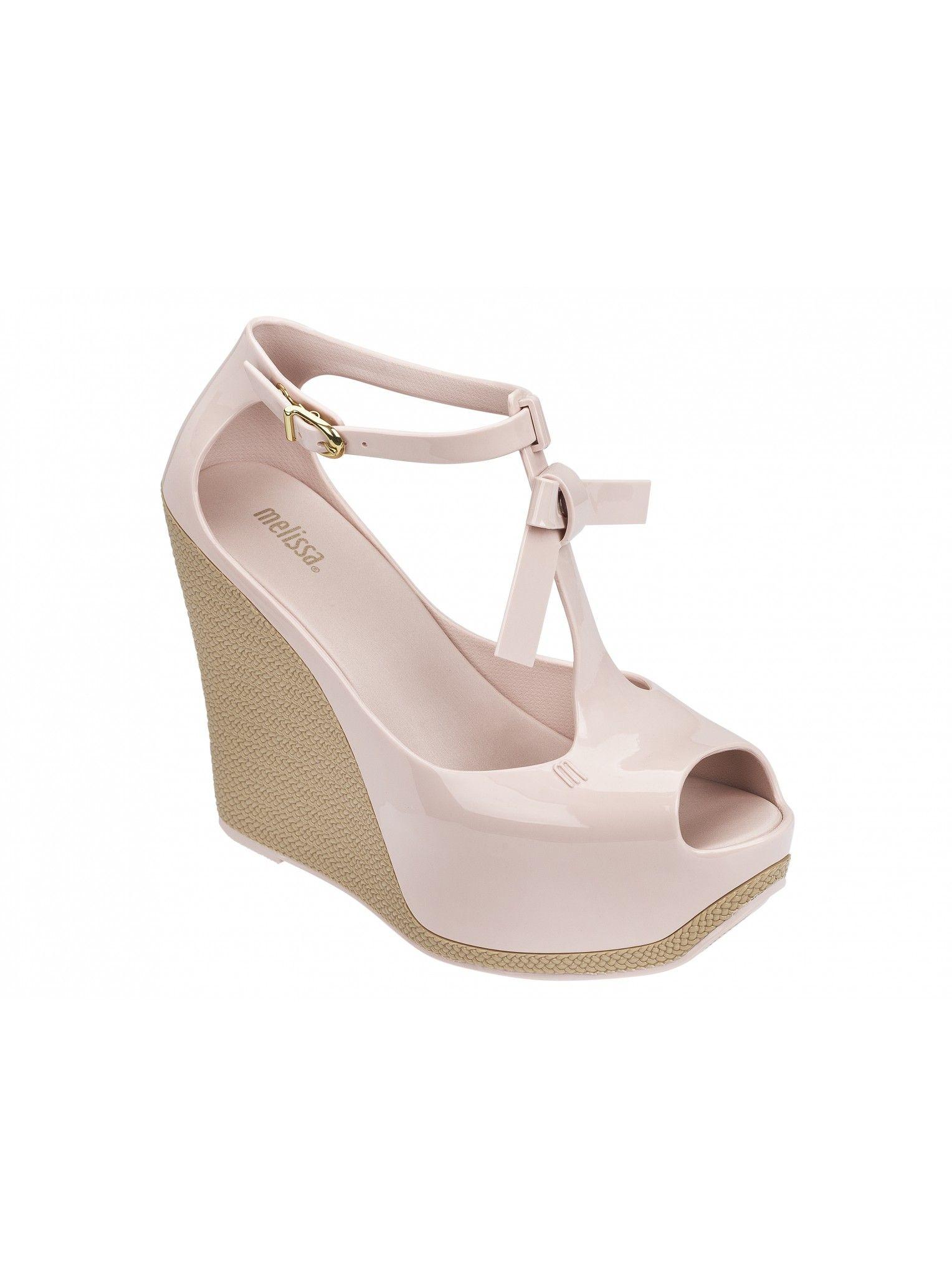 Zapatos negros Melissa Fly para mujer LzPOo