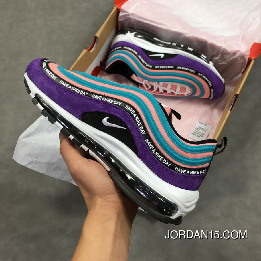 Nike Air Max 97 Have A Nike Day BQ9130 400 Originals Suede