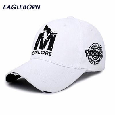 rhandz  EB baseball cap gorras 6 panel snapback unisex  7a3ef4cfe59