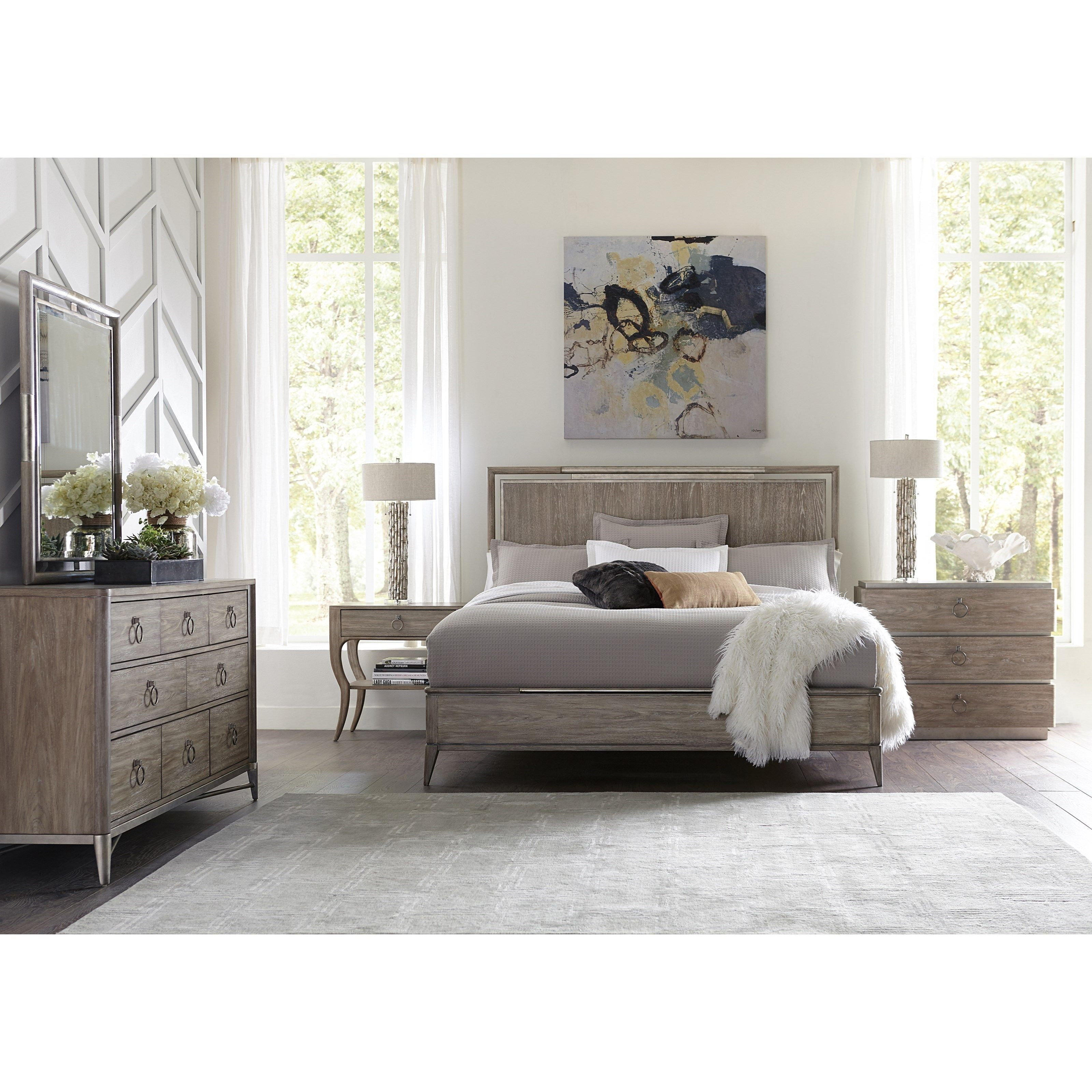 Sophie Queen Bedroom Group By Riverside Furniture At Coconis