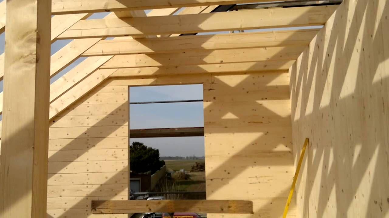 nur holz holzbau massivholzhaus vollholzhaus passivhaus montage