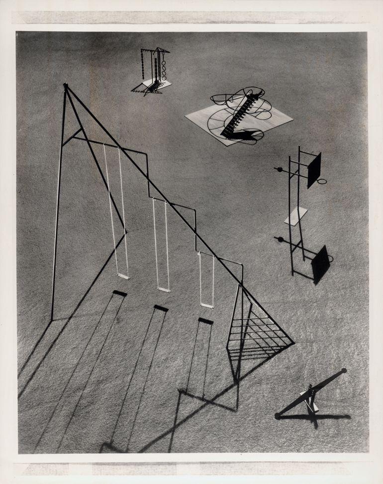 Isamu Noguchi's Creative Playground Designs Exhibit at SFMOMA