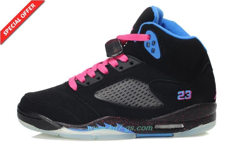 25a4910bf65086 Deals On Black Blue South Beach AIR JORDAN V RETRO · Basketball Shoes ...