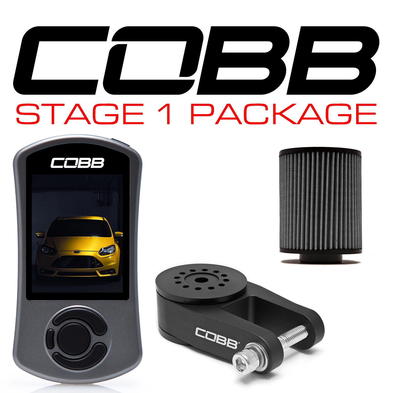 Cobb Tuning Stage 1 Power Package Ford Focus St 13 15 Ford Focus Ford Packaging