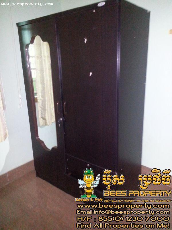 Apartment For Rent In Bkk2 Boeng Keng Kong2 Near The Toul Slang