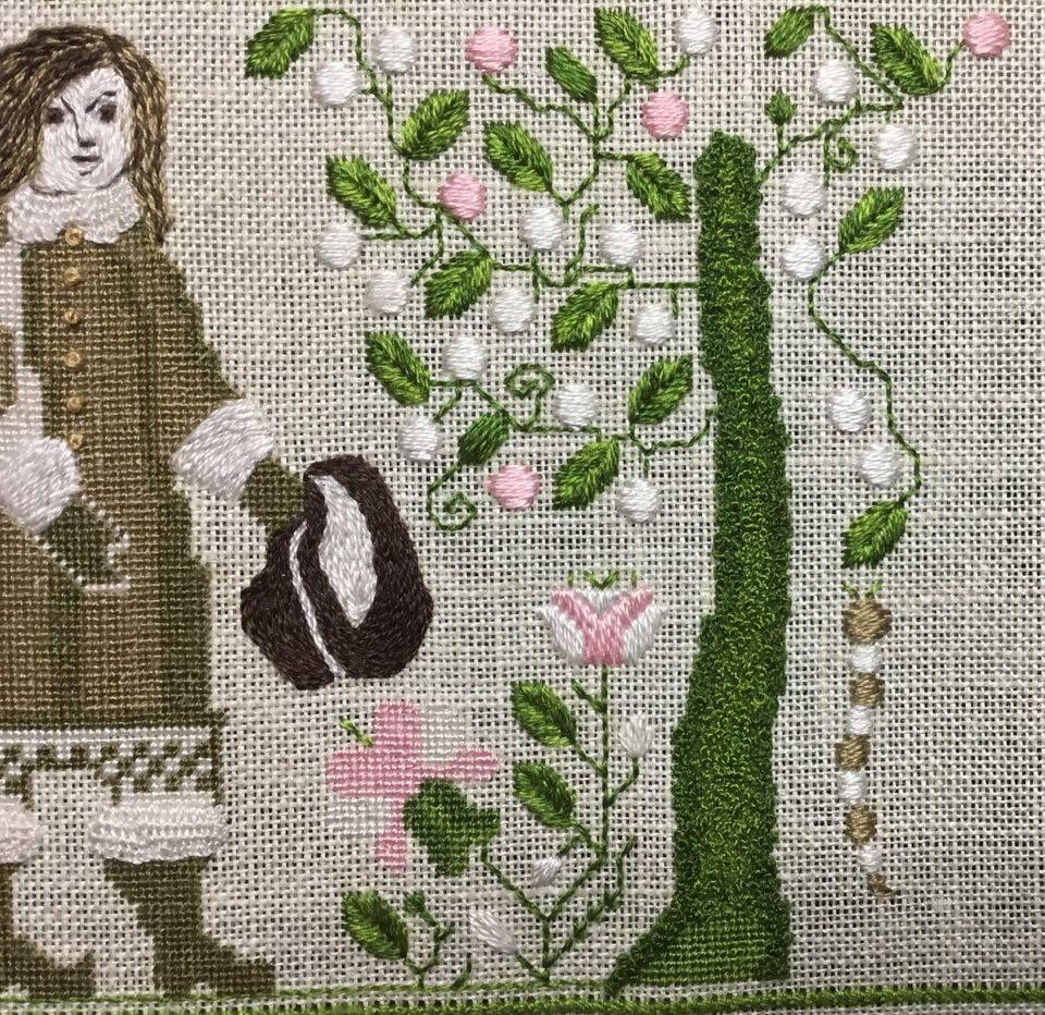 Ann Week 9 Burlap bag, Anne, Reusable tote