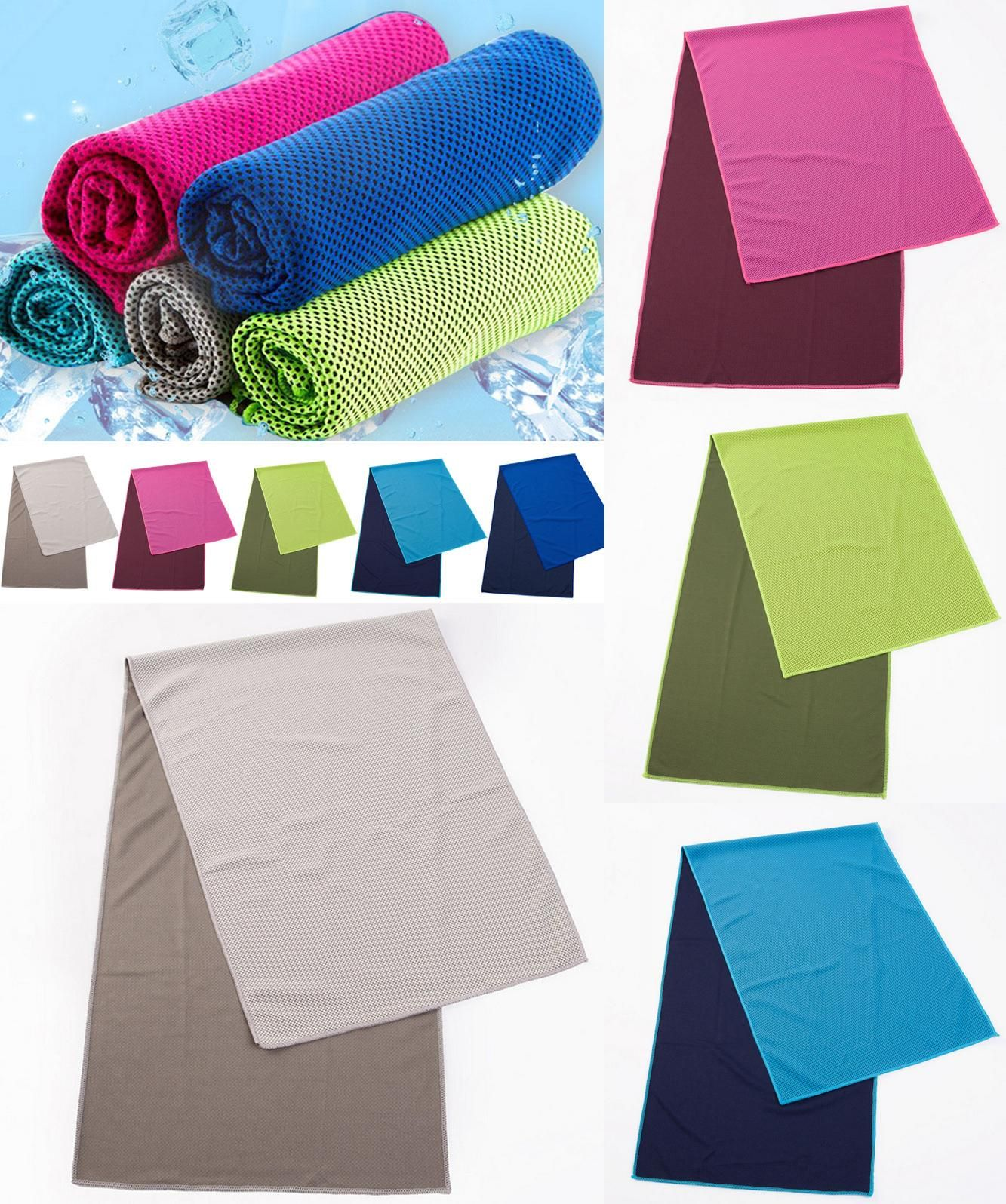 Visit To Buy Summer Ice Towel Utility Enduring Instant Cooling