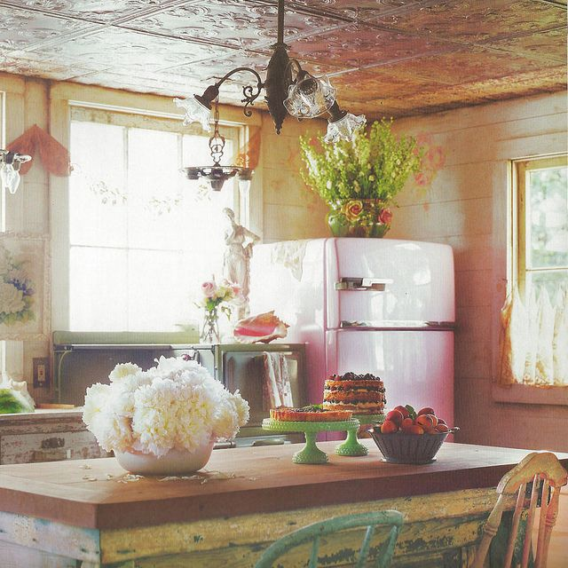 Interesting Facts About Shabby Chic Country Kitchen Design: Shabby Chic Homes, Shabby