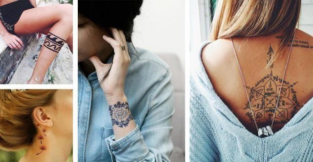 Katalog Tatuaży Duża Galeria Kobiecych Wzorów Tatuaże