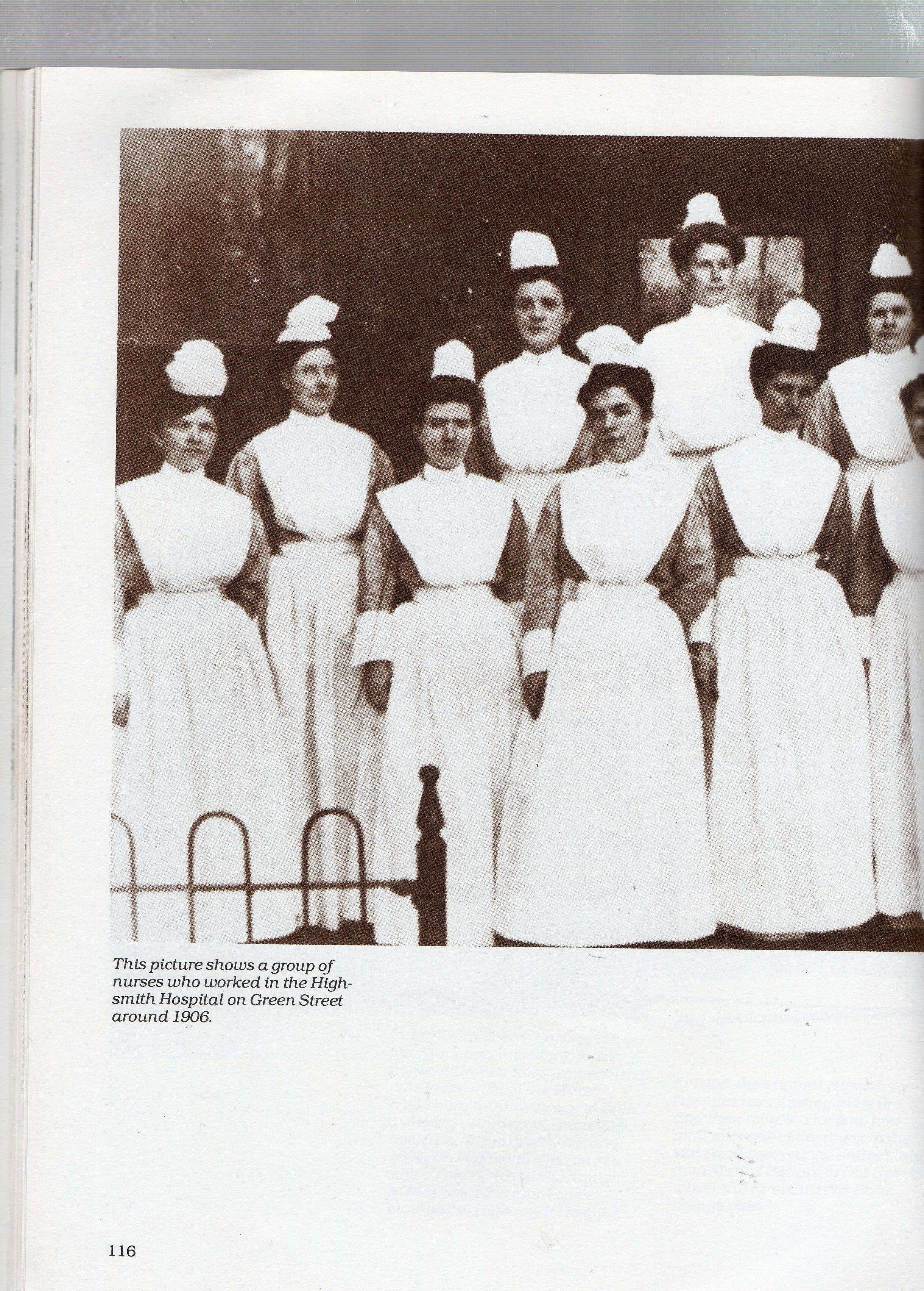 "A Pictorial History"" by Weeks Parker Fayetteville North Carolina, Nurses, Nursing"