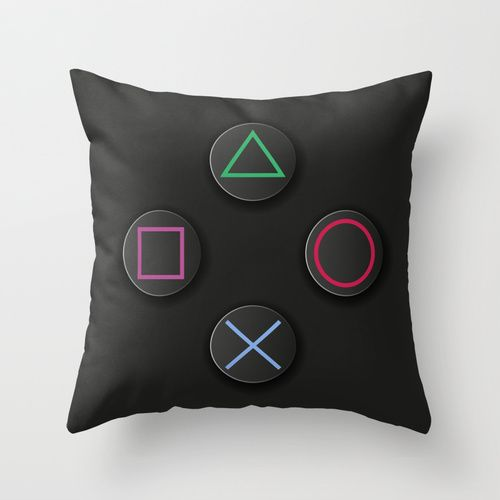Play Station pillow AKA the best pillow in existence.