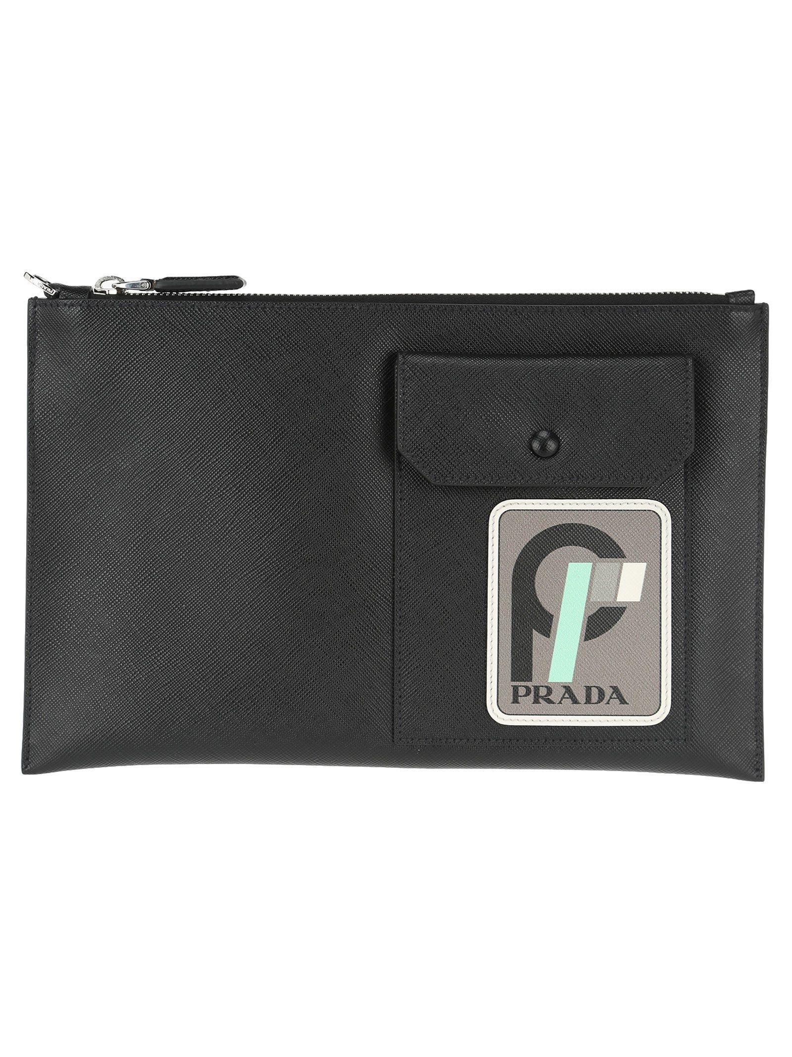 c67d8ba4 PRADA POUCH POCKET. #prada # | Prada | Prada, Leather pouch, Prada men