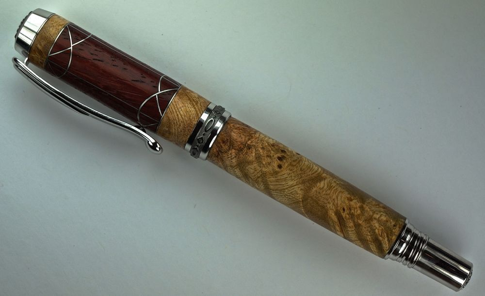 Handcrafted Wooden Pen Hand Turned Fountain by MikesPenTurningZ, $199.00