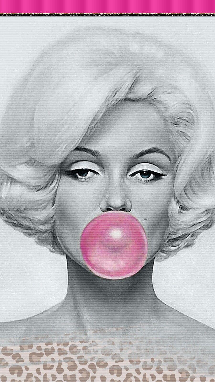 Digitalcutewalls Iphone Wallpaper Girly Marilyn Monroe