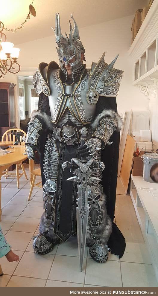 Vestiti Eleganti World Of Warcraft.My Mom S Lich King Cosplay