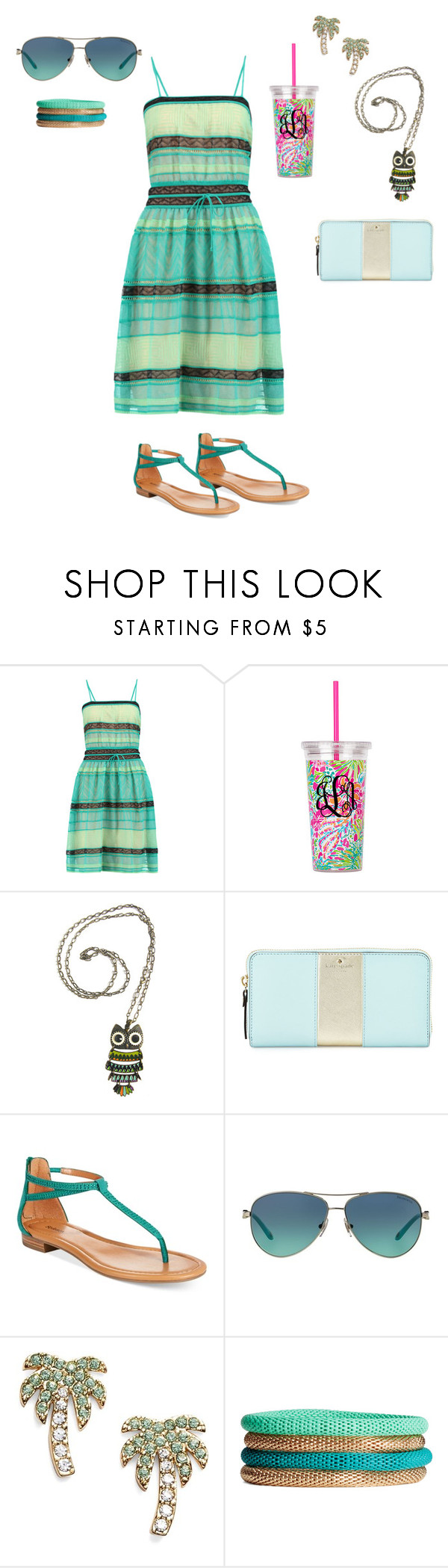 """""""Untitled #80"""" by fatimazahraa14mrh ❤ liked on Polyvore featuring M Missoni, Kate Spade, Style & Co., Tiffany & Co. and H&M"""