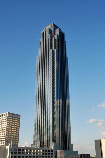 This Is A Picture Of The Transco Tower Located At 2800 Post Oak