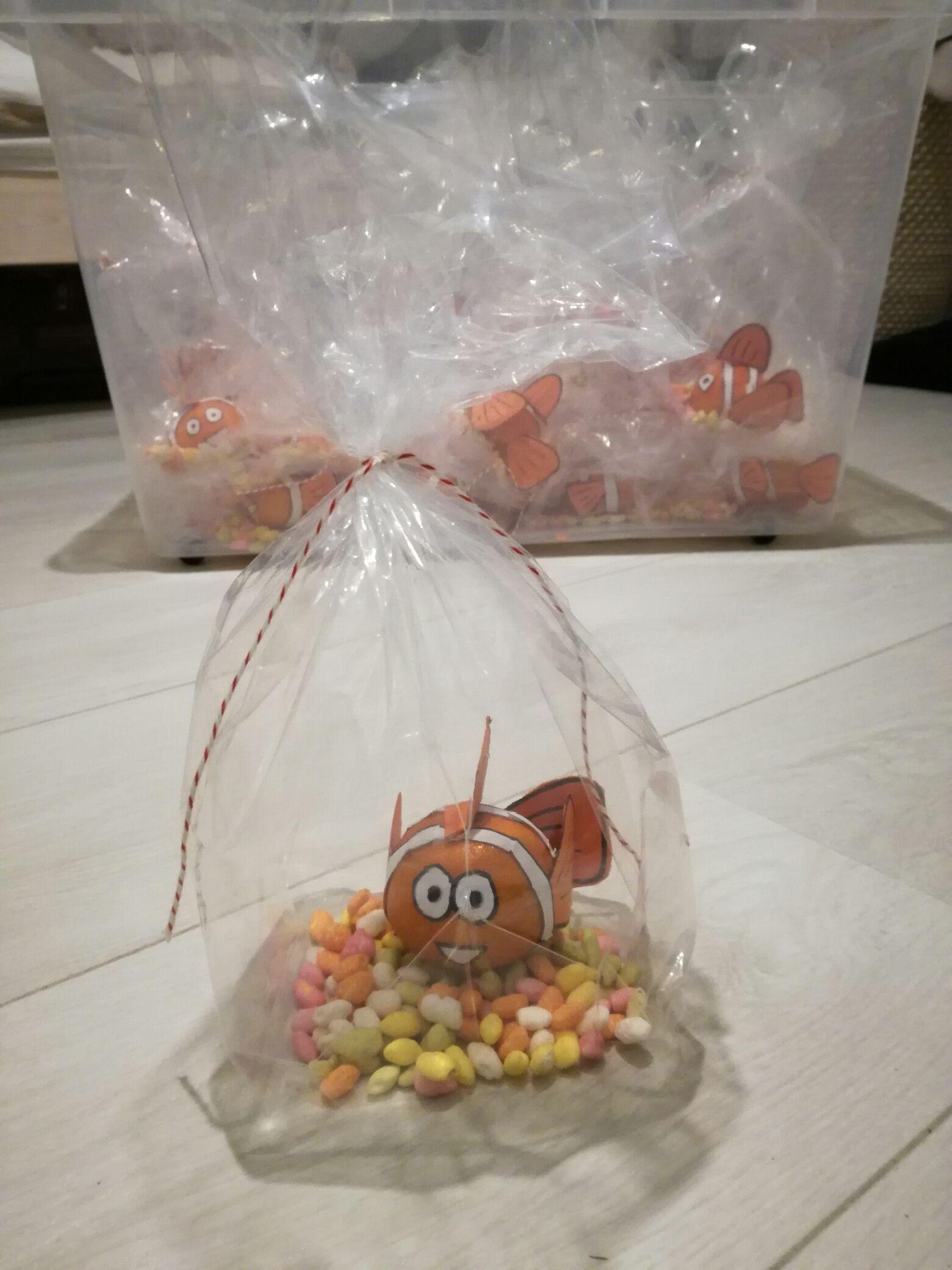 TRAKTATIE - Nemo vis van mandarijn