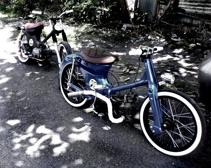 40 Awesome Honda Cub Bobber Images Postie Project Pinterest