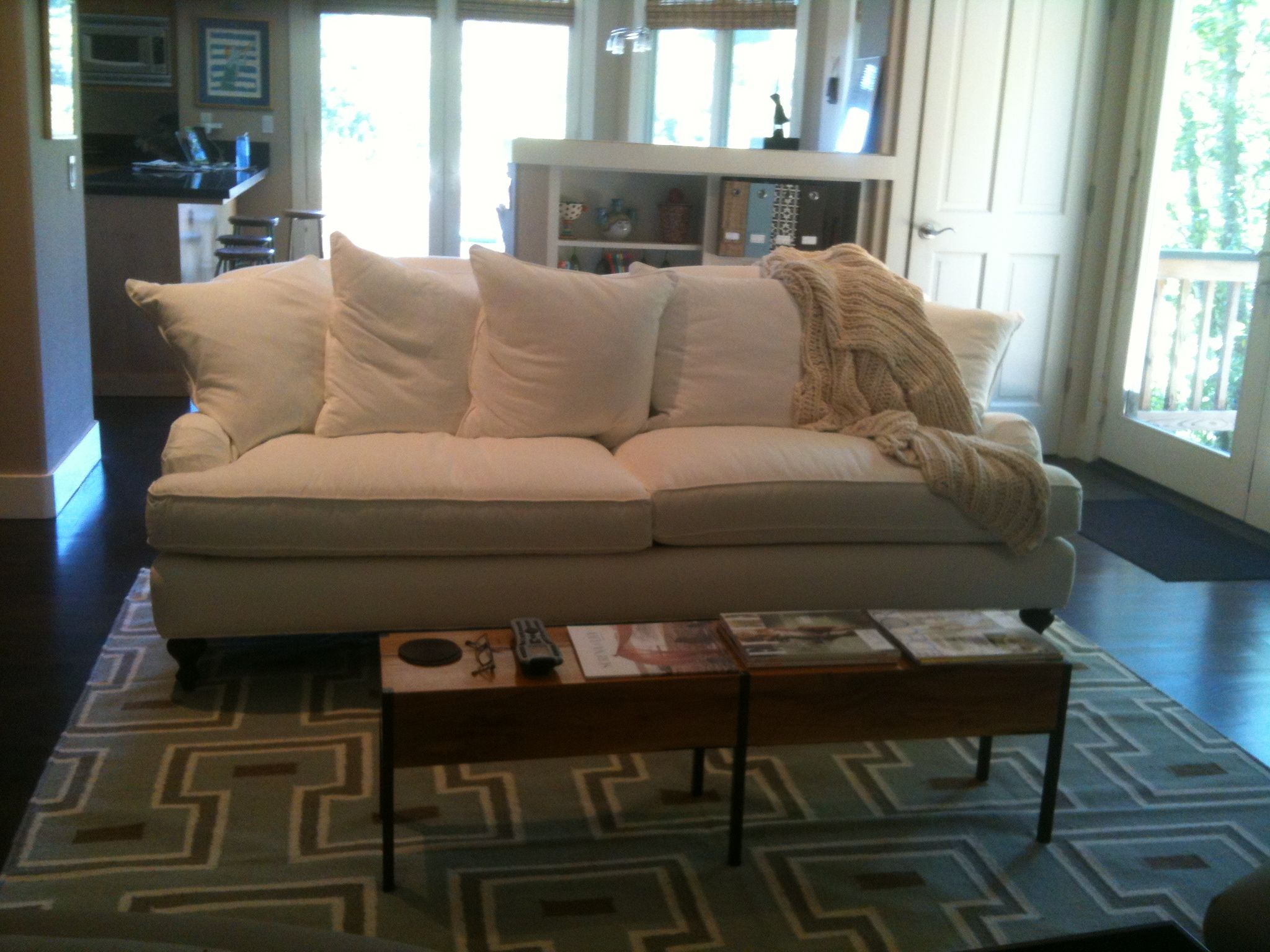 The serena lily miramar sofa so beautiful and comfy