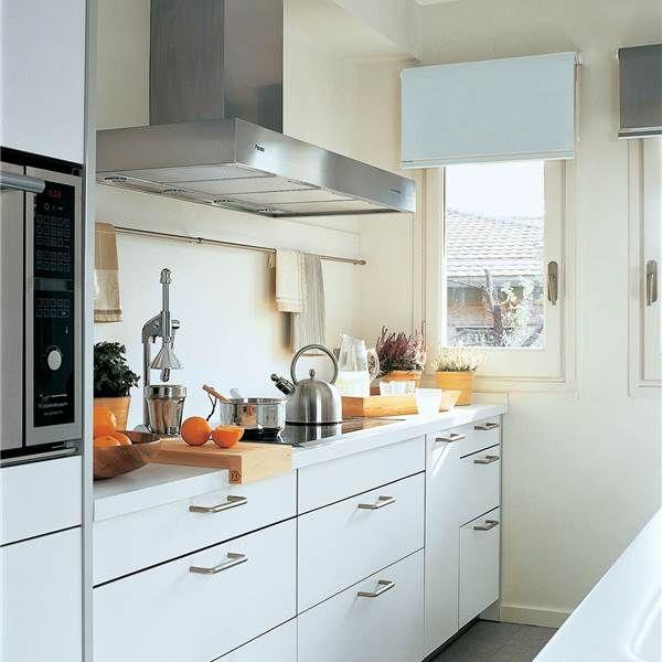 Buenas ideas para cocinas peque as cocina pinterest for Cocinas pequenas y bonitas
