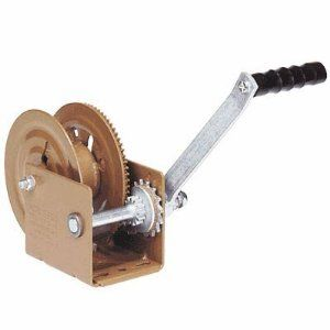 Dutton Lainson Winch With Automatic Brake 1200 Lb Capacity By