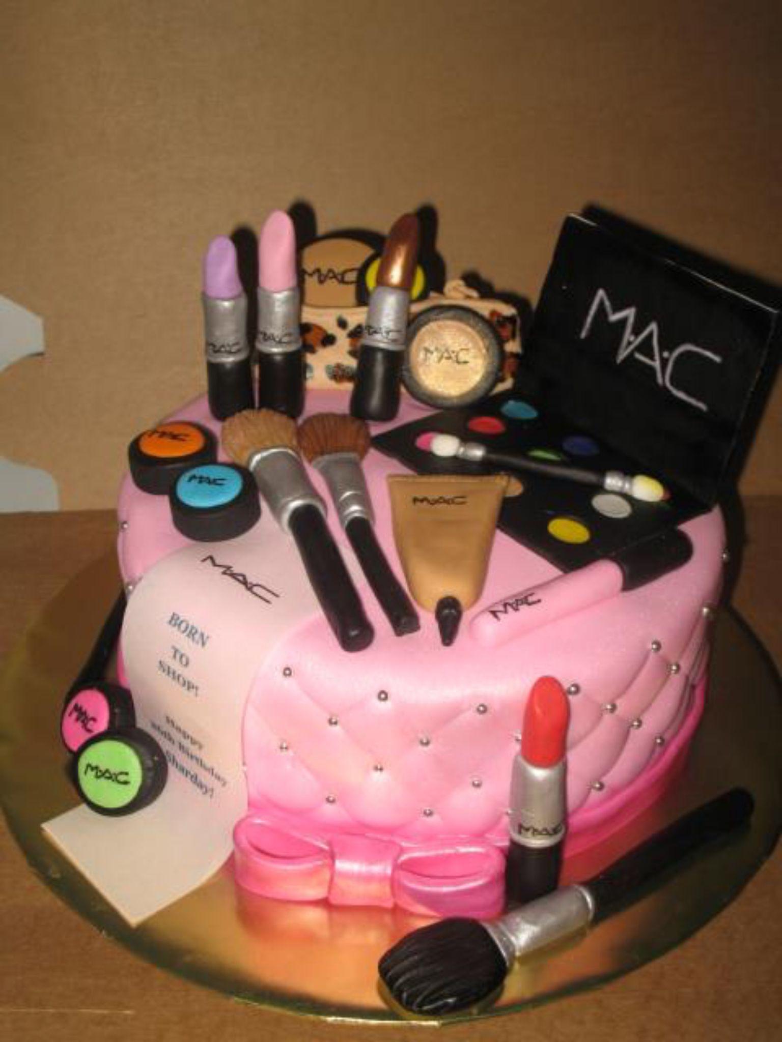 Makeup taart Snoep & bewonder Pinterest Cake