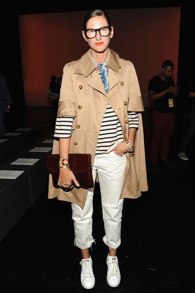 Photo of Stil-Vorlage: Jenna Lyons: So tragen Sie weiße Hosen