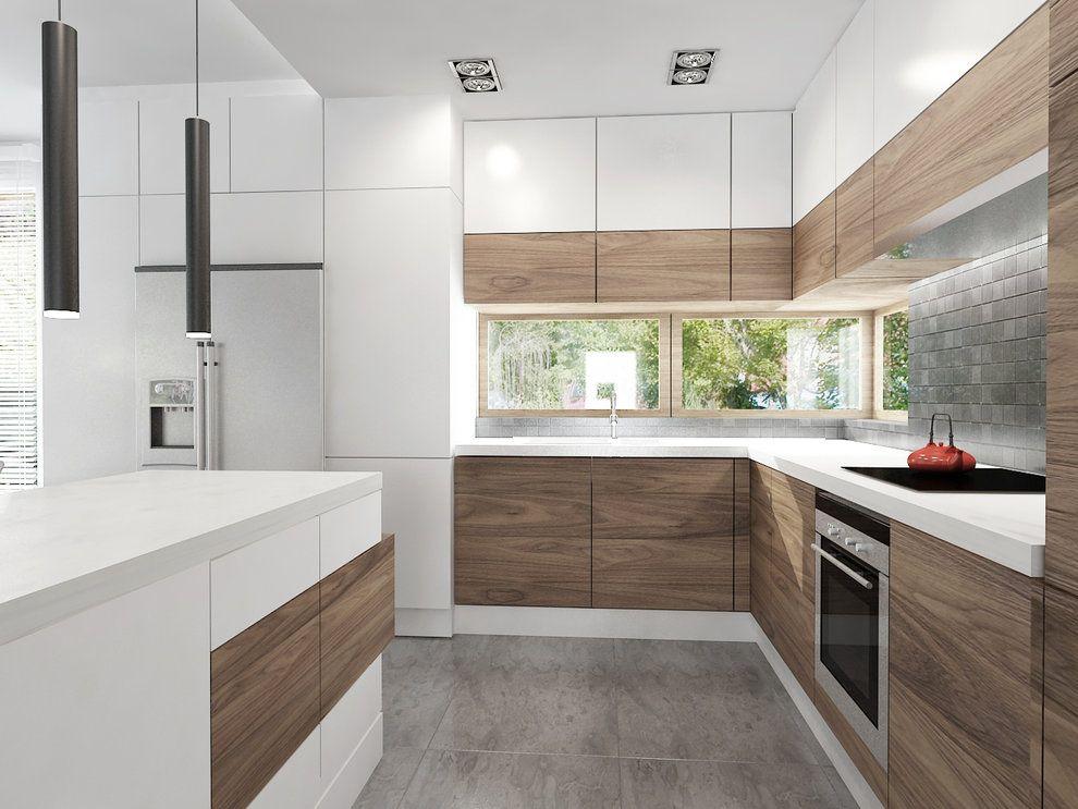 Zdjecie Nr 4 W Galerii Nowoczesne Wnetrza Deccoria Pl Kitchen Furniture Design Kitchen Design Decor Interior Design Kitchen