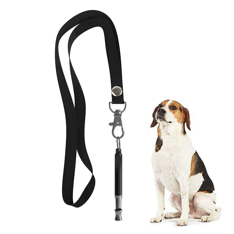Hehui Dog Whistle To Stop Barking Adjustable Pitch Ultrasonic