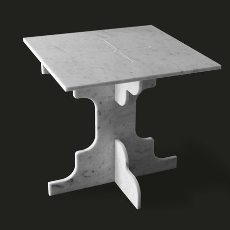 40x40 Collection By Paolo Ulian And Moreno Ratti Sfrid0 Table