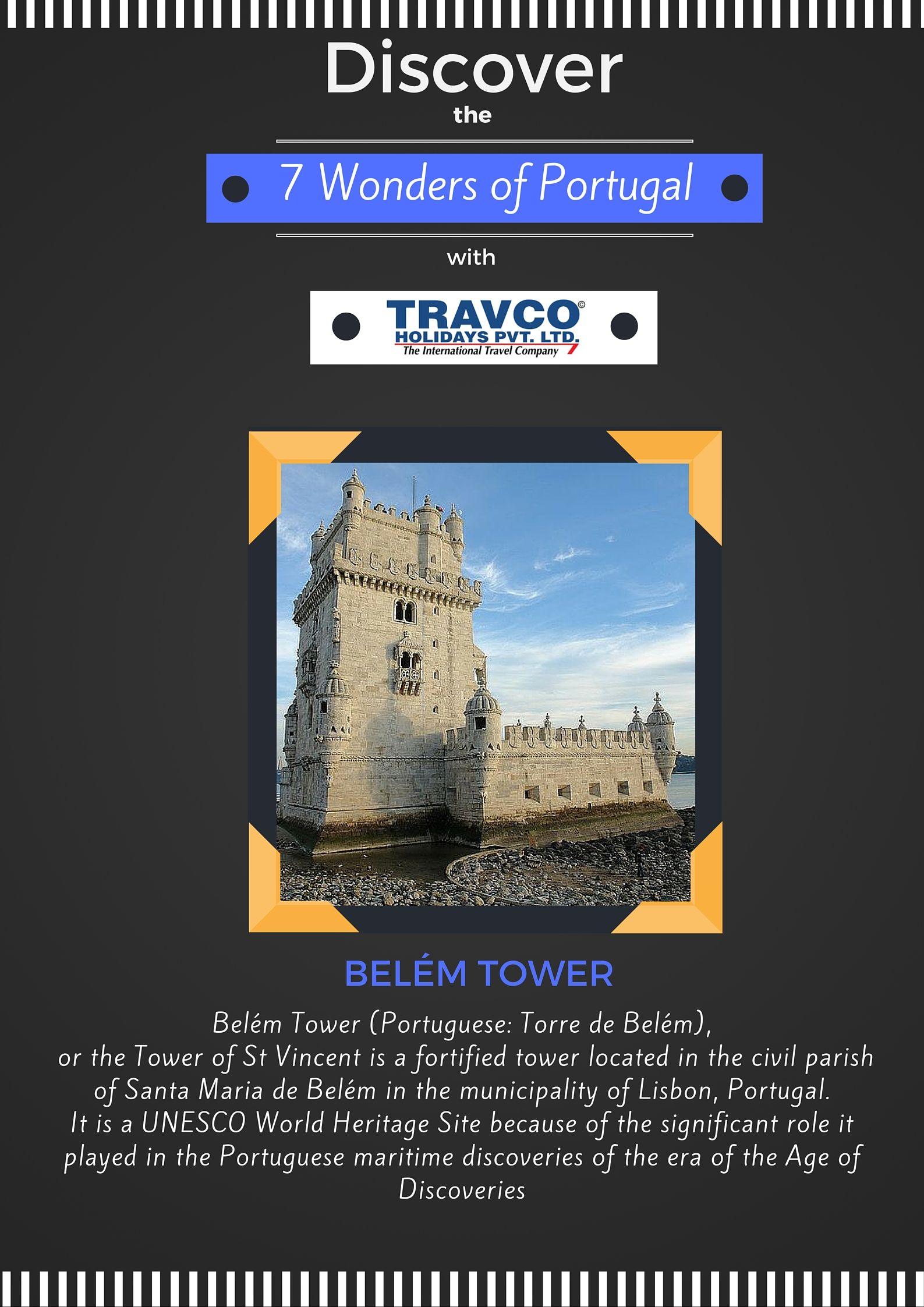 Knowportugal Sevenwondersofportugal Belemtower Travel