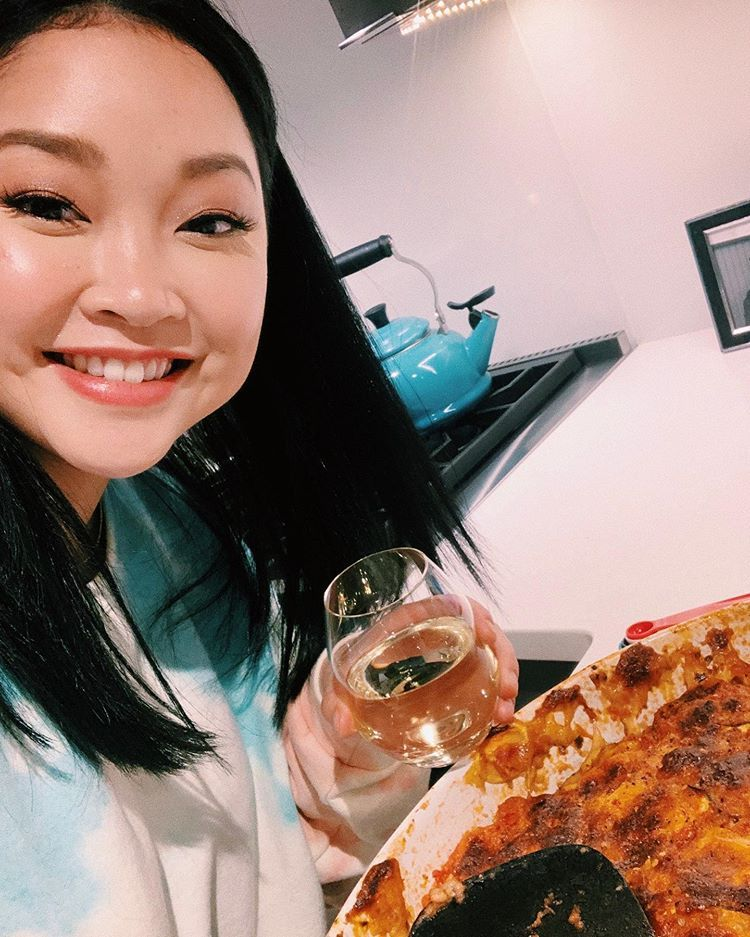 Lanacondor On Instagram If You Re Like Me You Ve Been Cooking Up A Storm During This Time What S Been Your Fav Dish You Ve Made Lana Condor Lara Jean Lana