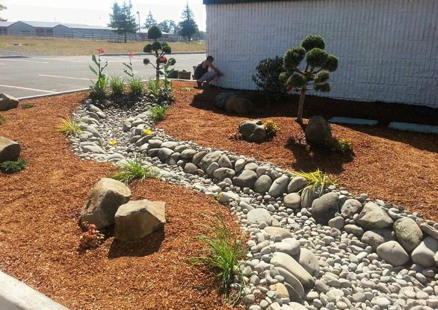 Tip How To Install A Drainage System In 2020 Landscaping Supplies Drainage Garden Design