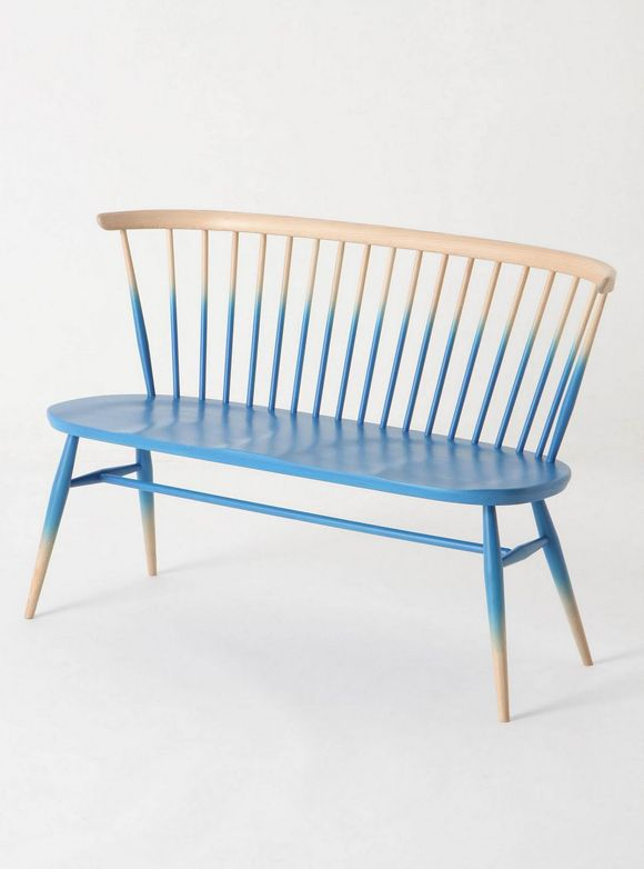 Ombre blue seat via Anthroplogie