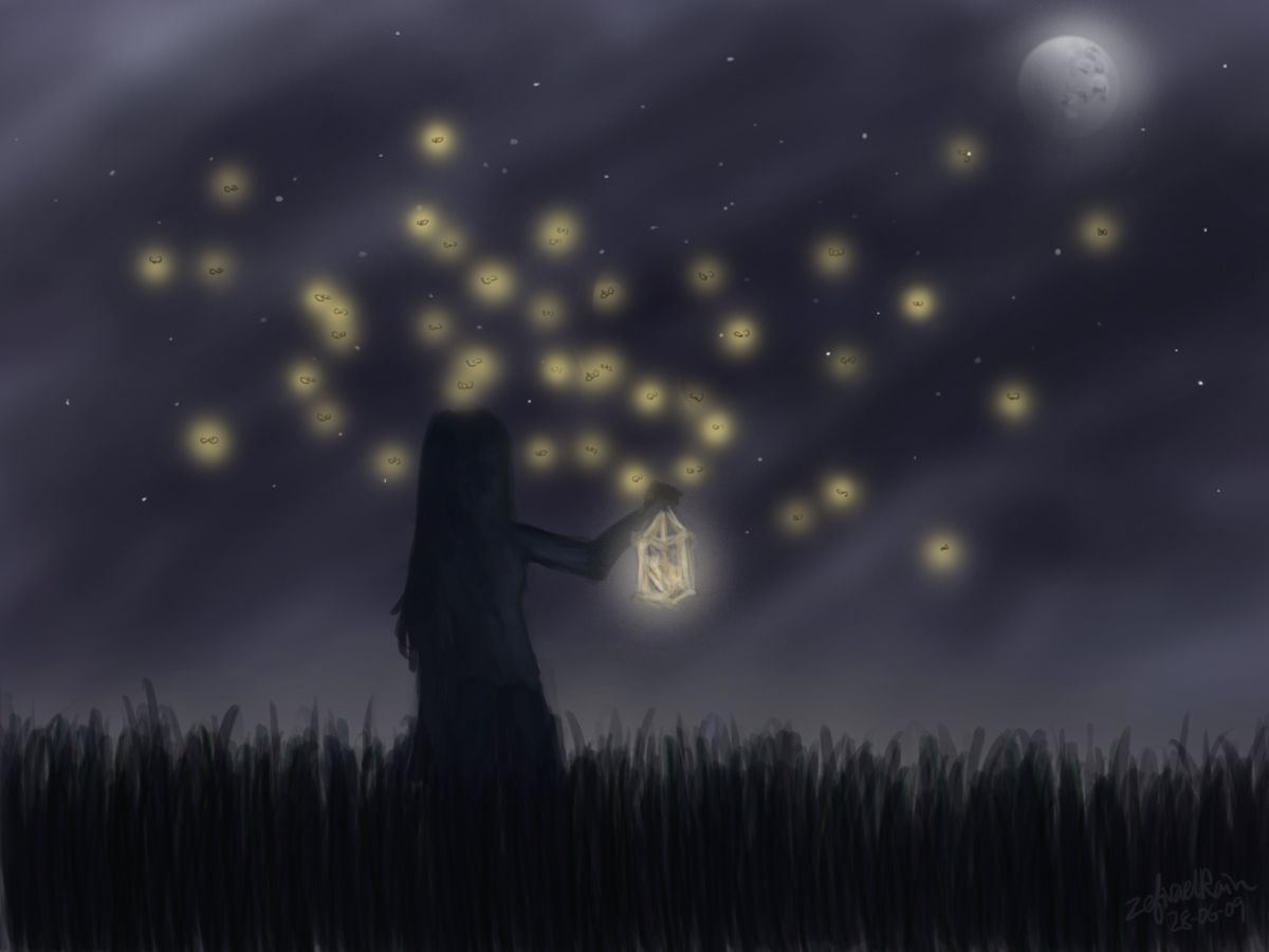 Firefly | Fireflies, Firefly painting and Storyboard for Fireflies In A Jar Owl City  54lyp
