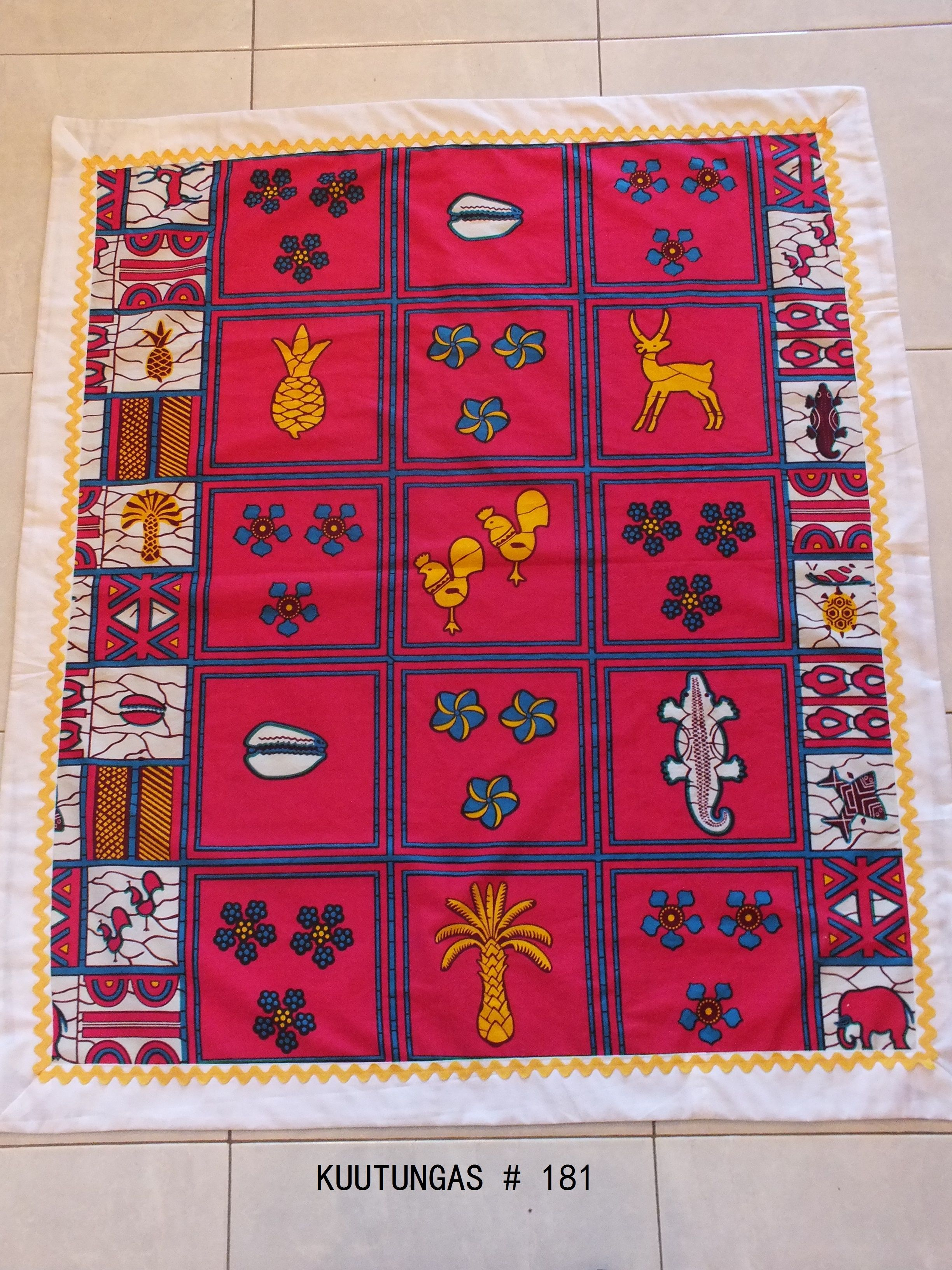 Pequena toalha de mesa kuutungas.blogspot.com
