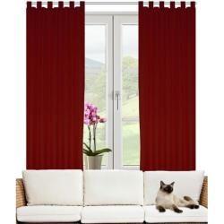 Photo of Friedland curtain set with loops, opaque Brayden StudioBrayden Studio