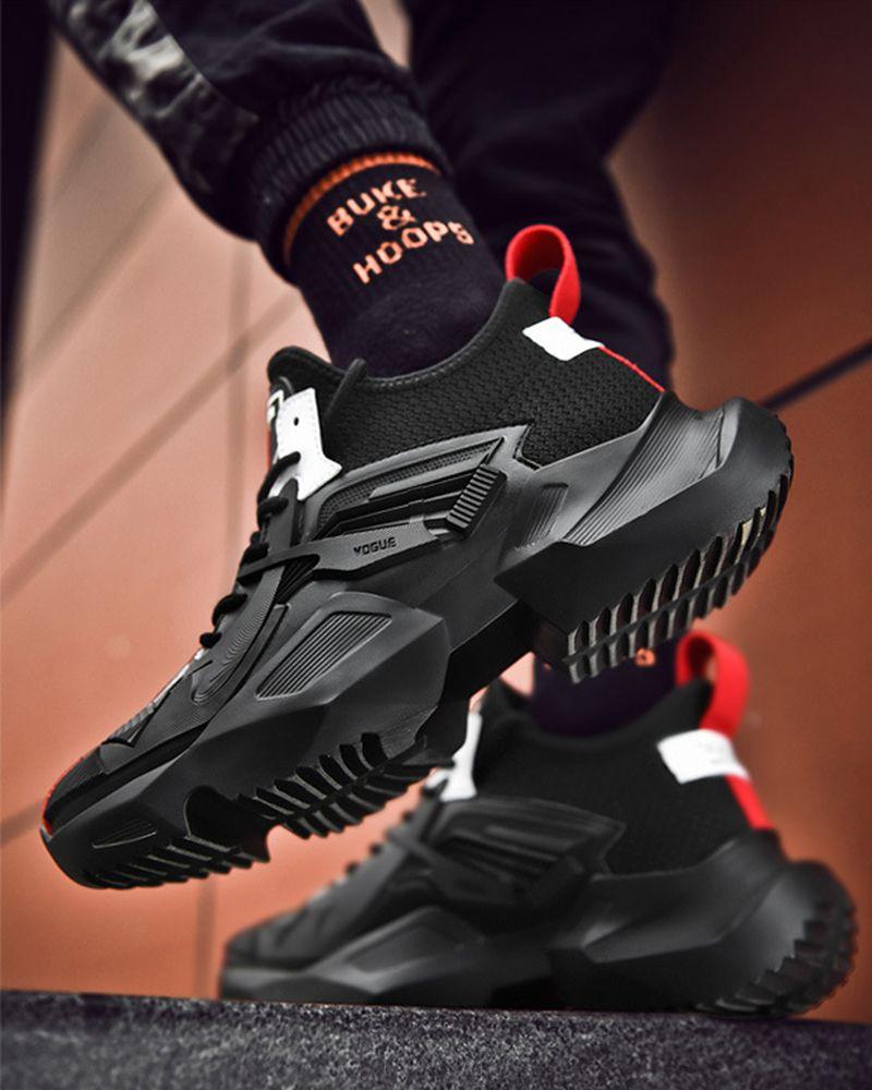 2019 Spring Kanye West Men Brand Platform Sneakers Fuzzishot Running Shoes For Men Sneakers Men Fashion Platform Sneakers