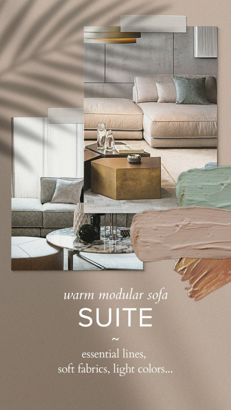 Suite Modular Sofa Sofa Design Home Decor Inspiration Luxury