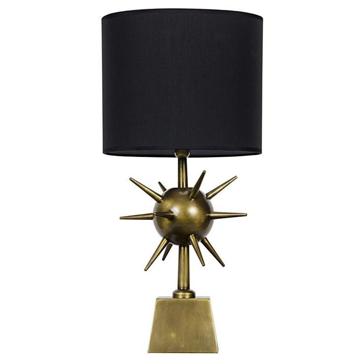 Steam punk table lamp steam punk and punk a statement making table lamp with black shade dimensions 12l aloadofball Gallery
