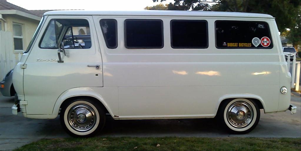 1966 Econoline Engine Google Search Ford Van Vintage Vans Custom Vans