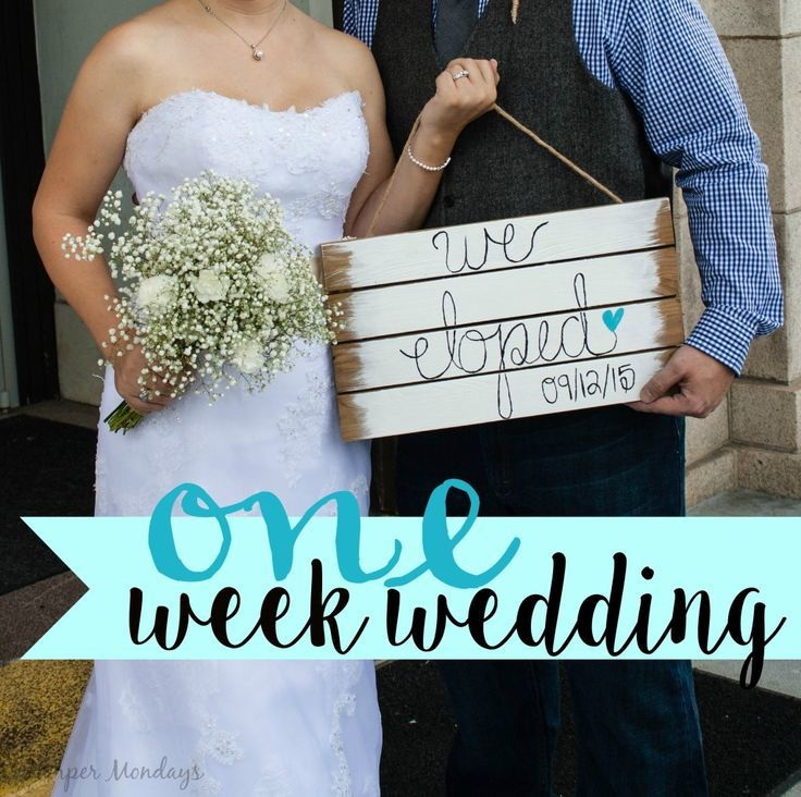One Week Wedding Planning And Top 5 Gifts For Couples Who