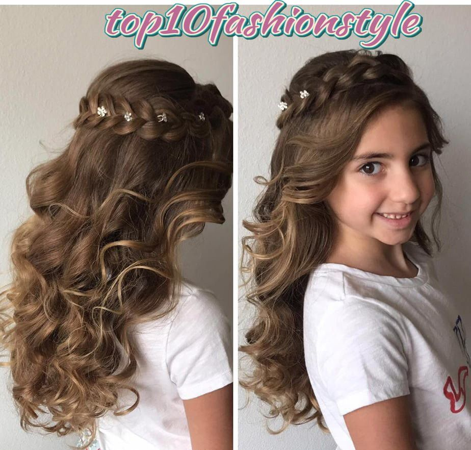 Hairstyles For Girls In Open Hair Open Hairstyles Hair Styles Easy Hairstyles