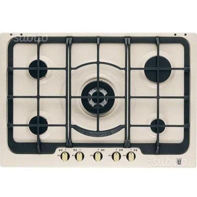 piano-cottura-electrolux-rex-5-fuochi-e-forno | Cucina in muratura ...